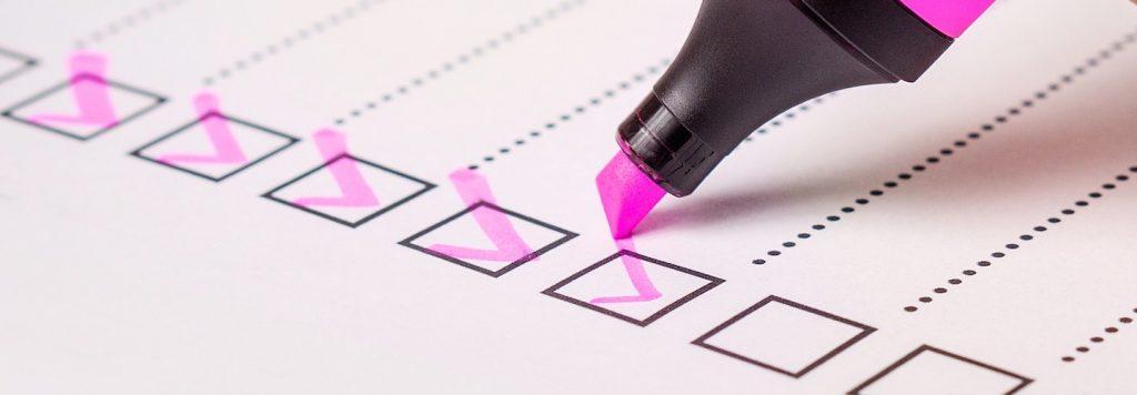 Checklist medicatiegebruik