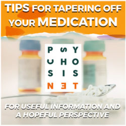 Tips for tapering off your medication